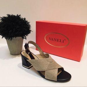VANELi Natural Linen Sandals